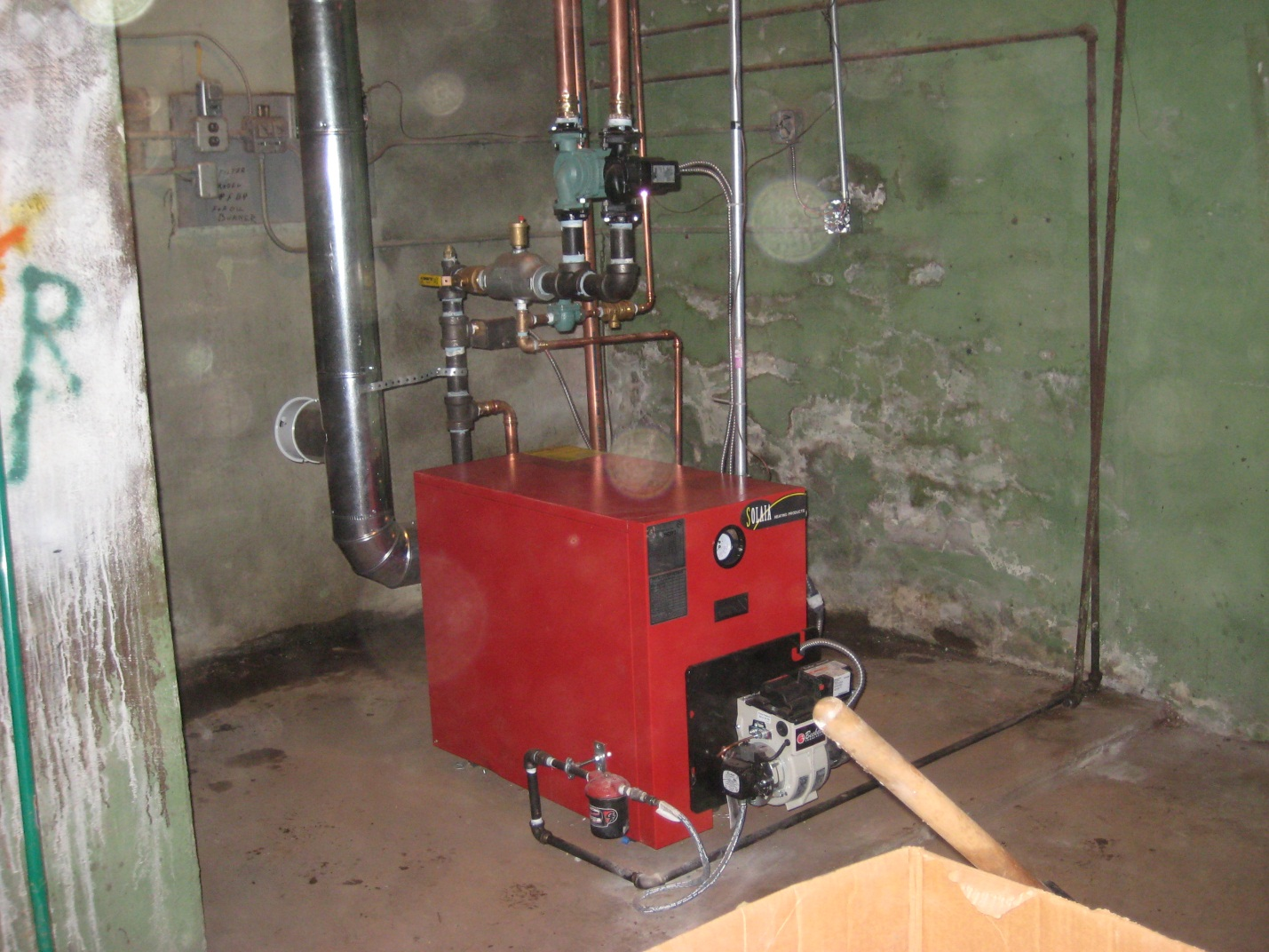 Efficient home oil burners - This Boiler Was 1 3 The